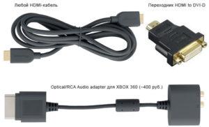 Подключение Xbox 360 к компьютеру