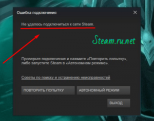 Steam не подключается: причины и решение