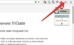 FriGate для Яндекс.Браузера: умный анонимайзер