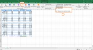Присвоение имени ячейкам Excel
