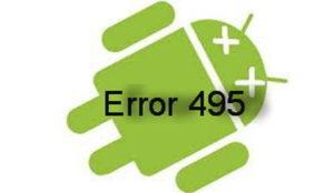 Решение ошибки с кодом 495 в Play Маркете