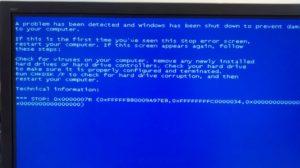 Решаем проблему с BSOD 0x0000007b в Windows 7