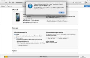Как разблокировать iPhone, iPad или iPod через iTunes