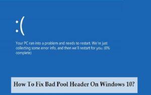 Исправляем ошибку «Bad_Pool_Header» в Windows 7