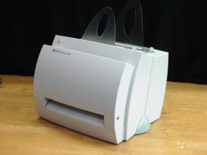 Поиск и загрузка драйвера для HP LaserJet 1100