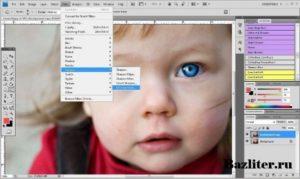 Как увеличить резкость в Фотошопе