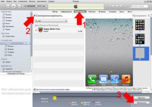 Как установить на iPhone приложение через iTunes