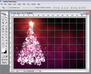 Создаем календарь из готовой сетки в Фотошопе