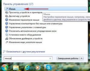 Включение тачпада на ноутбуке под управлением Windows 7
