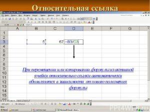 Создание ссылок в Microsoft Excel