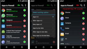 Приложения-файрволы для Android