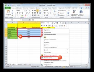 Изменение размера ячеек в Microsoft Excel