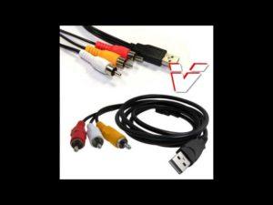 Подключение ноутбука к телевизору через USB
