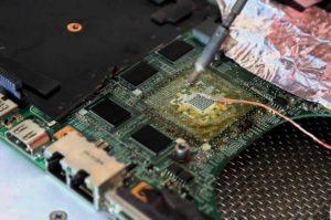 Замена процессора на ноутбуке