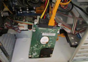Подключение жесткого диска от ноутбука к компьютеру