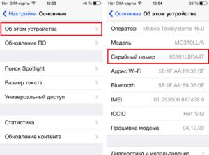 Как проверить iPhone по серийному номеру