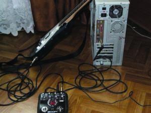 Подключение гитары к компьютеру