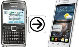 Перенос контактов с телефона Nokia на Android-устройство