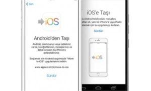 Перенос данных с iPhone на Android