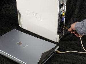 Подключение сканера к компьютеру