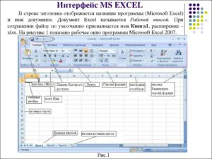 Программа Microsoft Excel: закрепление заголовка