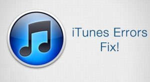 Популярные ошибки iTunes