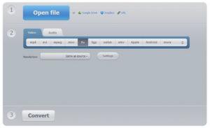 Конвертирование MP4 в 3GP онлайн