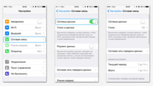 Как отключить LTE/3G на iPhone