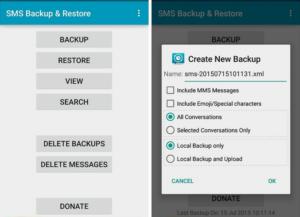 Удаление приложения SMS_S на Android