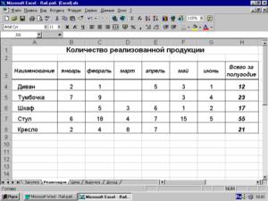 Работа со связанными таблицами в Microsoft Excel