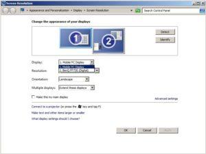 Настройка экрана монитора компьютера в Windows 7