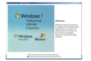 Скачивание и запуск Windows XP Mode на Windows 7