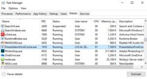 Что делать, если presentationfontcache.exe нагружает процессор