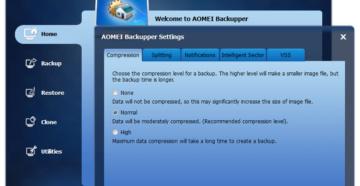 Aomei Backupper Standard 4.1