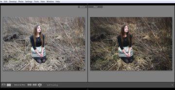 Пример обработки фото в Lightroom