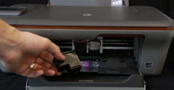 Правильная чистка принтера HP