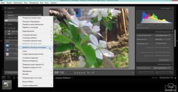 Как сохранить фото в Lightroom после обработки
