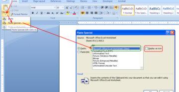 Конвертация файлов Word в Microsoft Excel