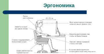 Настройка монитора для комфортной и безопасной работы