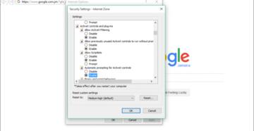 Элементы управления ActiveX в Internet Explorer