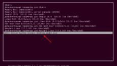 Установка Линукс с флешки