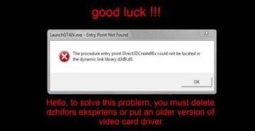 Исправление проблемы с библиотекой d3d9.dll