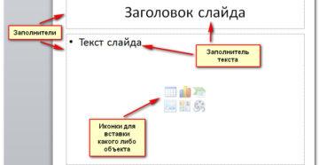 Работа со слайдами в PowerPoint