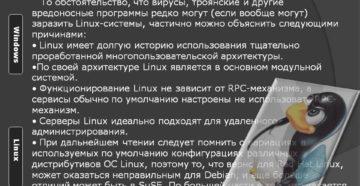 Достоинства и недостатки дистрибутивов на ядре Linux